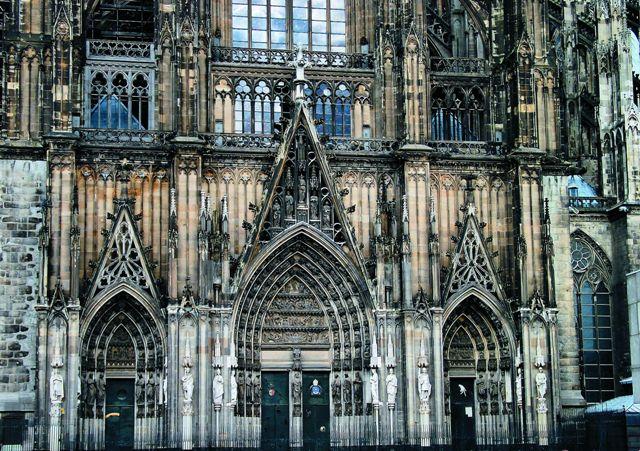 Кельнский собор - детали декора