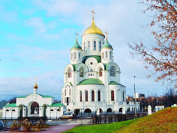 Храм в Солнцеве (ул. Богданова, д. 21)