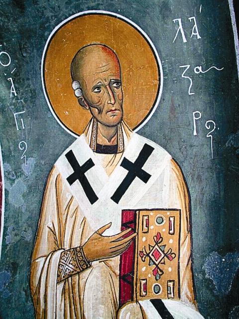 В Ларнаке, что на Кипре, прожил 30 лет святой Четверодневный Лазарь, которого Христос воскресил накануне Своих страданий
