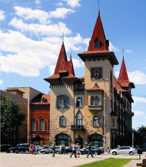 Здание саратовской консерватории