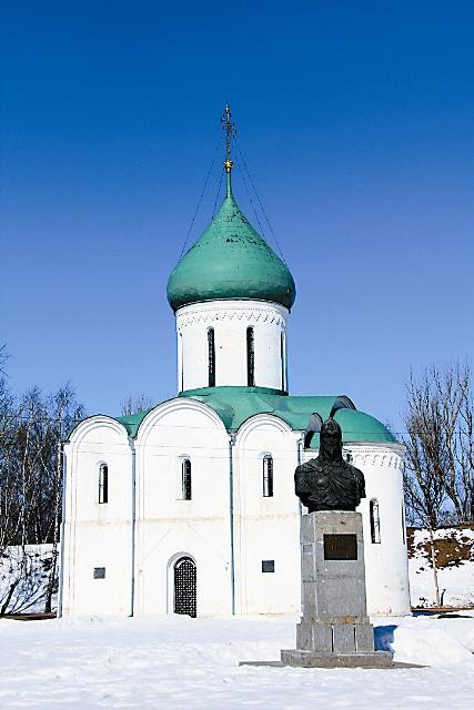 Спасо-Преображенский собор, где крестился Александр Невский