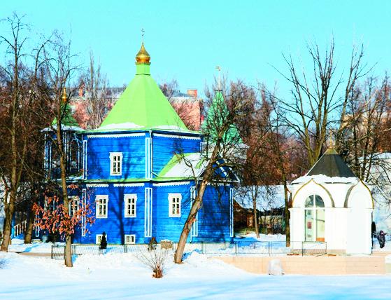 Петропавловский храм – единственный сохранившийся до наших дней