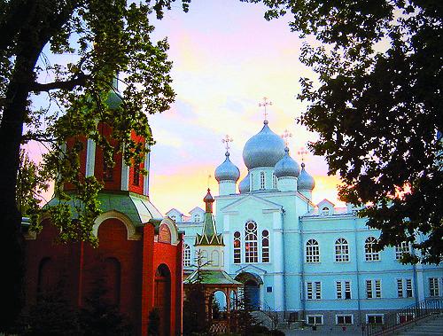 Свято-Михайловский монастырь в Одессе