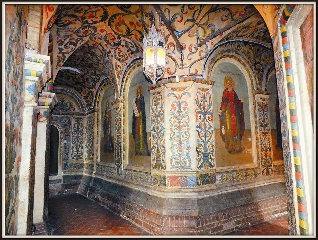 Фрагмент росписи собора Василия Блаженного