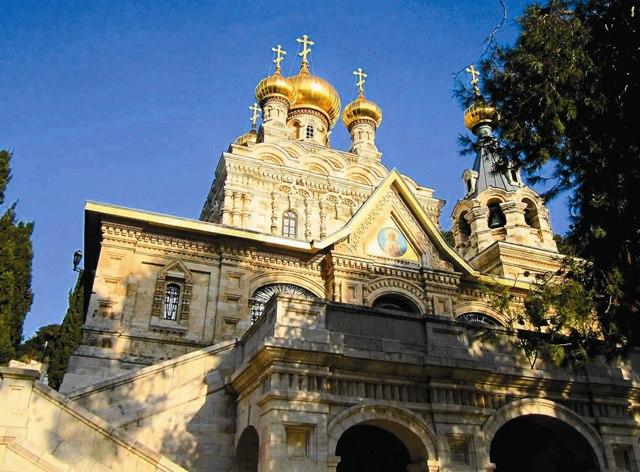 Храм святой Марии Магдалины в Гефсиманском женском монастыре