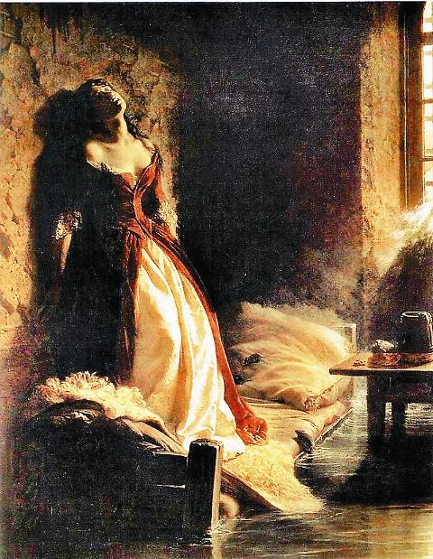 «Княжна Тараканова». К.Д. Флавицкий (1864 год)