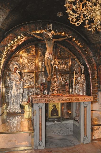 Место распятия Христа