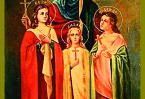 За открытое исповедование веры в Иисуса Христа они были схвачены и подвергнуты страшным пыткам