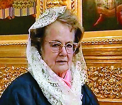 Маркиза Иммаколата Соляро дель Борго, представительница древнего итальянского рода, часть святынь пожертвовала из собственных собраний