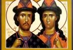 Борис и Глеб стали первыми русскими святыми, канонизированными Русской и Константинопольской Церковью
