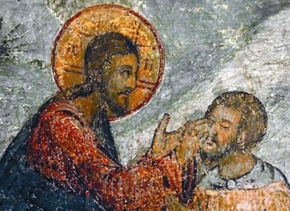 Фреска Сретенского монастыря