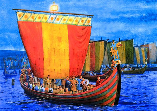 На остров Кипр — средоточие торговых путей — нередко заплывали и русские ку- печеские корабли. Моряки, не имея вре- мени высадиться, передавали первому встречному киприоту три монеты на три свечи.