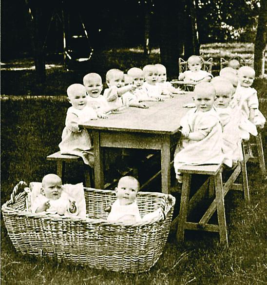 Елизаветинское попечительское общество занималось различной благотворительной деятельностью, но в первую очередь – устройством ясель и детских садов