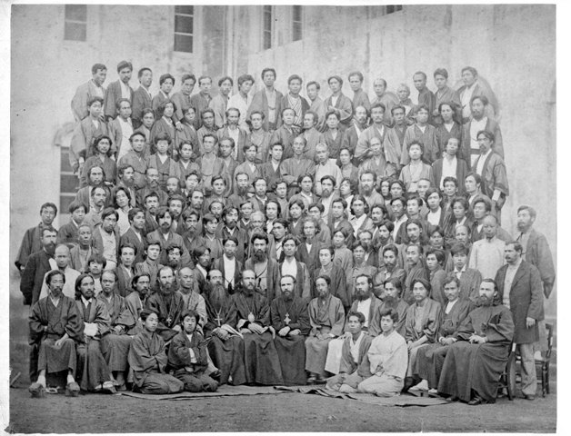 Такума Сабаве был настоятелем синтоистского храма и ярым противником христианства. После бесед с отцом Николаем он всей душой принял Православие