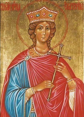 Икона святой мученицы Екатерины