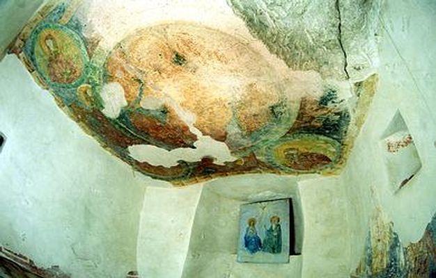 Фрески монастыря Аладжа