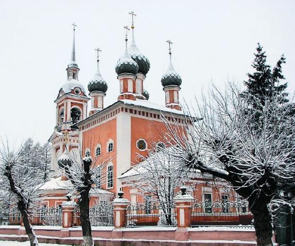 Храм во имя святителя Иоанна Златоуста в Костроме