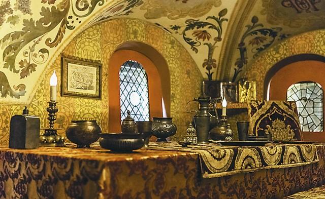 В музее бояр Романовых