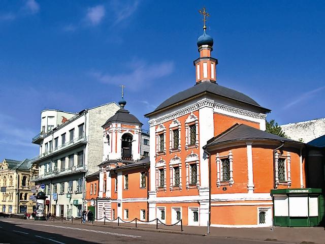 Храм святителя Николая Чудотворца в Кленниках