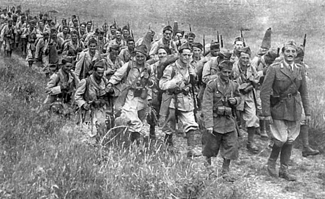 Итальянские ветераны вспоминали удивительное милосердие простых русских людей на своем обратном пути в Италию