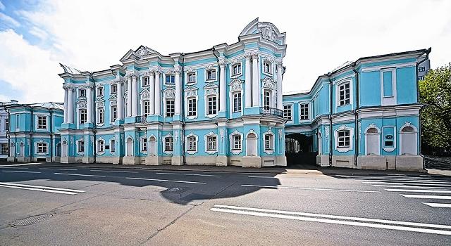 Бирюзовый дворец АпраксиныхТрубецких