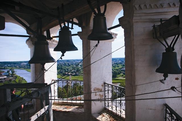 С колокольни Троицкого собора виден весь город