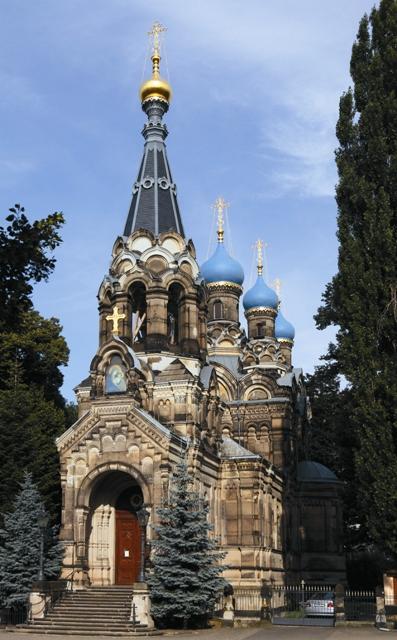 Храм Симеона Дивногорца в Дрездене