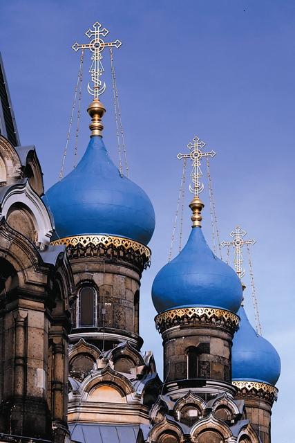 Купола храма Симеона Дивногорца