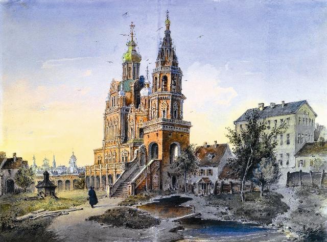 Храм Успения Пресвятой Богородицы в Котельниках (Разрушен в 1936 году)