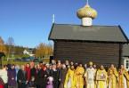 Храм воздвигнут на месте упокоения святого Олафа, короля Норвежского, обратившего викингов в христианство