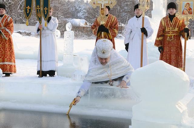 Молебен с водоосвящением