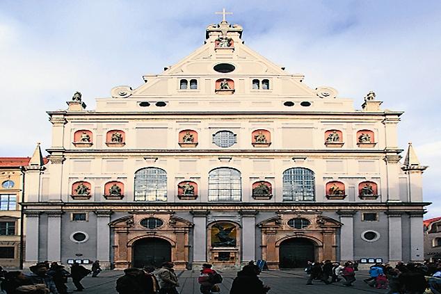 Иезуитская церковь св. Михаила