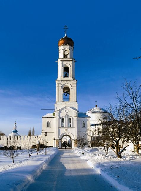 Колокольня Раифского Богородицкого мужского монастыря