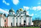 Собор Софии Премудрости Божией – самая древняя каменная постройка на севере Руси, относящаяся к 1054 году