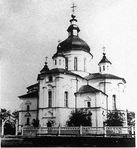 Церковь Рождества Пресвятой Богородицы в Васильевке