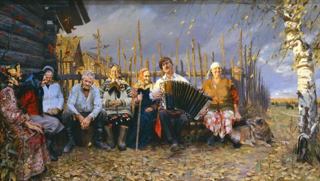 Особое место в творчестве Татьяны Юшмановой занимает Белое море и жизнь поморов.