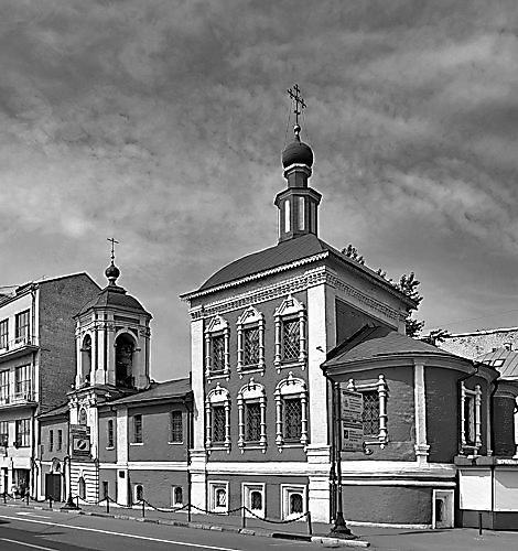 Храм свт. Николая в Кленниках
