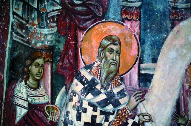 Уникальные фрески монастыря Сопочаны