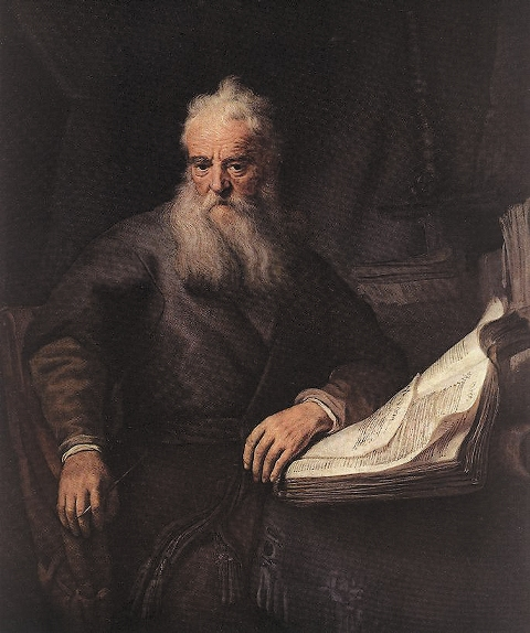 Апостол Павел. Рембрандт ван Рейн