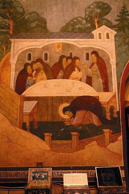 Фреска в Серапионовой палате