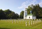 Ныне среди бескрайних полей Шампани, ставшей гигантским полем битвы во время Первой мировой войны, то здесь, то там возвышаются обелиски многочисленных военных кладбищ с надписями на разных языках