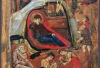 """Икона """"Рождество Христово"""" XIII век, Синай"""