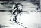 Путешествие к Полюсу, 1984 год. Автолитография. Фото с сайта http://www.mmoma.ru/
