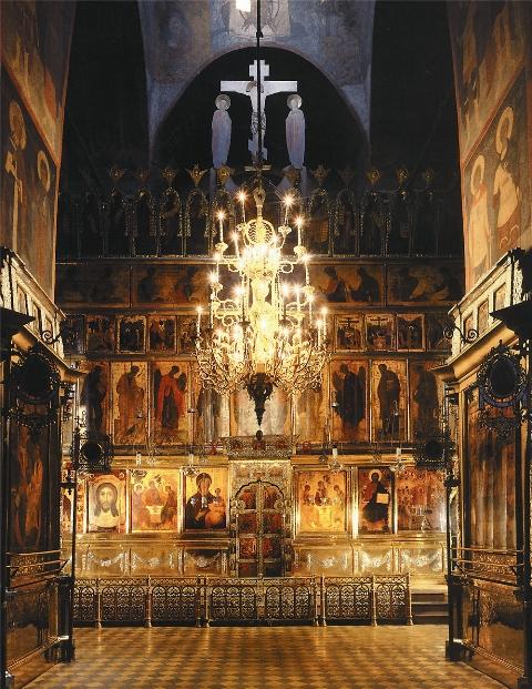 Иконостас Троицкого собора в Троице-Сергиевой Лавре