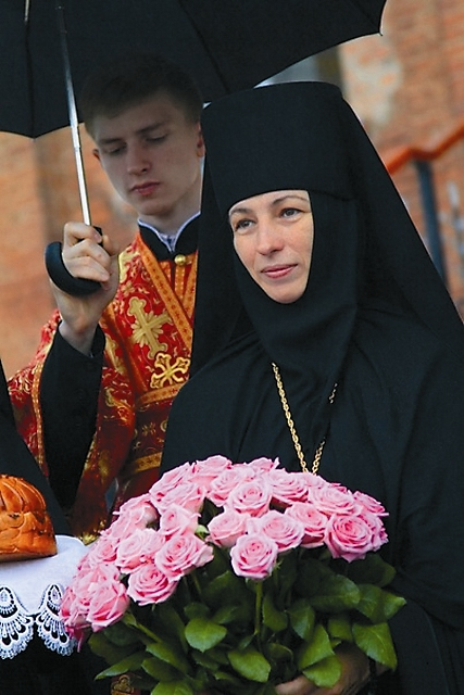 Настоятельница монастыря игумения Марфа