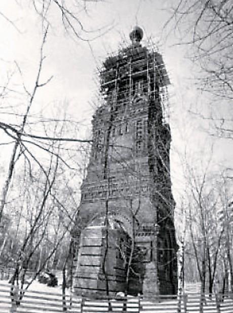 Колокольня Головинского монастыря. 1995-2000 гг.