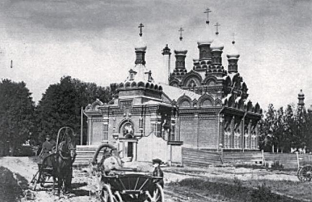 1. Троицкий собор Казанского Головинского монастыря. 1890-1900 г
