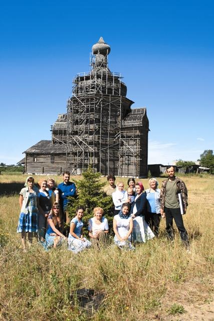 За четыре года участниками проекта бследовано более 120 храмов