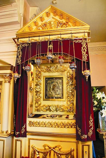 Чудотворный список Казанской иконы в Казанско-Богородичном монастыре