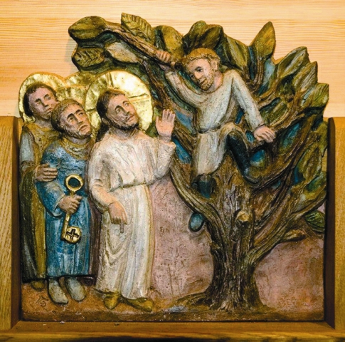 В Иерихоне сохранилось дерево Закхея – древняя смоковница, на которую залез мытарь Закхей, чтобы увидеть Иисуса Христа. Сейчас это дерево находится на участке, принадлежащем Императорскому Православному Палестинскому Обществу. На месте, где находился дом Закхея, ныне расположено подворье Русской Духовной Миссии с храмом Иоанна Предтечи